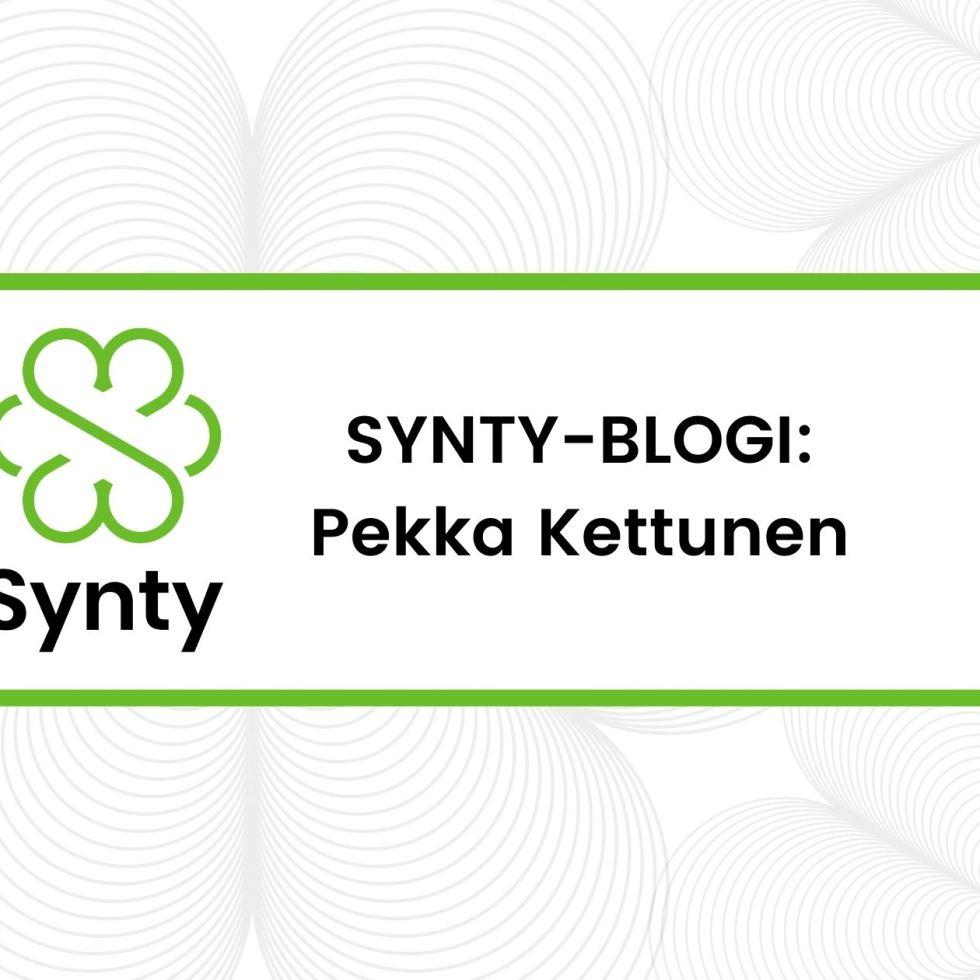 Synty-blogin banneri.